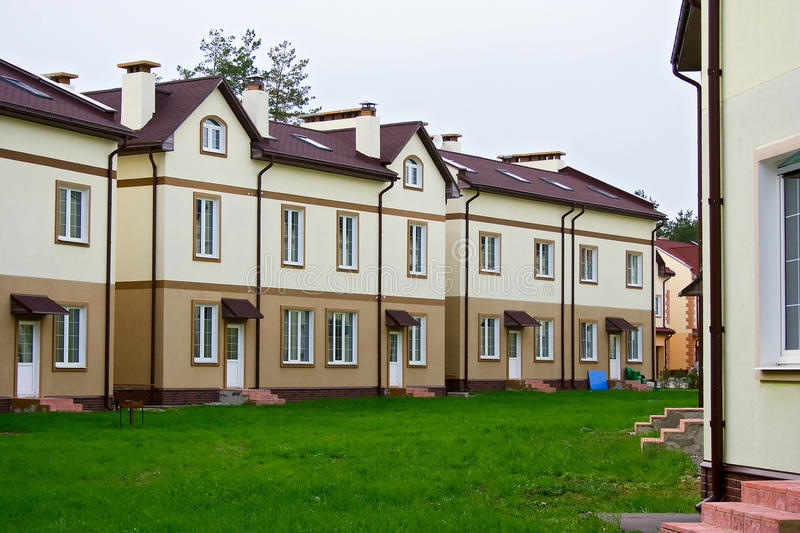 Download New residential area stock image. Image of buildings - 24754517