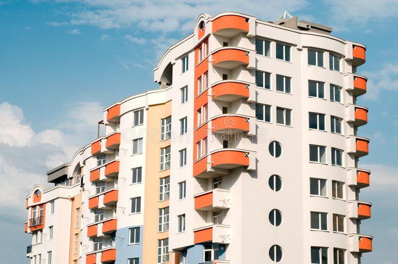 New Residential Building Free Stock Images