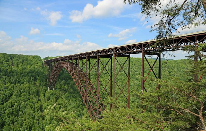 New River Gorge Bridge. West Virginia stock images