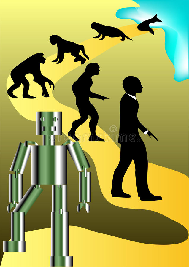 Download New Round Of Human Evolution Stock Image - Image: 28789911
