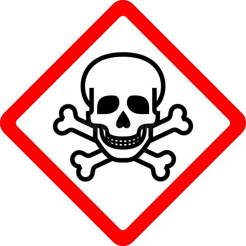 New safety symbol. Toxic, new safety symbol, vector illustration vector illustration