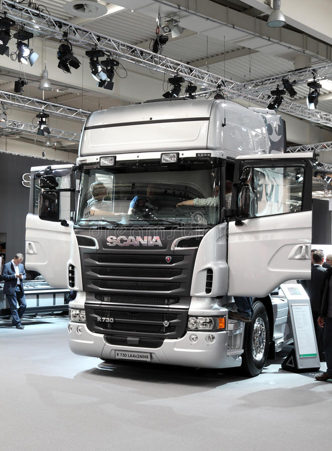 Download New Scania R730 Truck editorial stock image. Image of industrial - 26875729