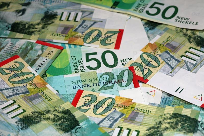 New Shekel Banknotes stock images