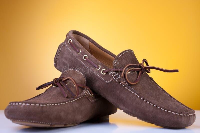 Download New shoes stock photo. Image of shoe, orange, closeup - 18203824