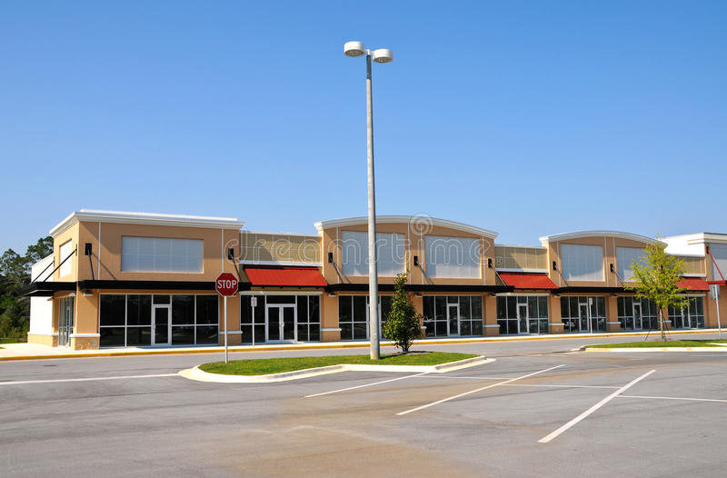 Download New Shopping Center stock photo. Image of retail, commercial - 14342792