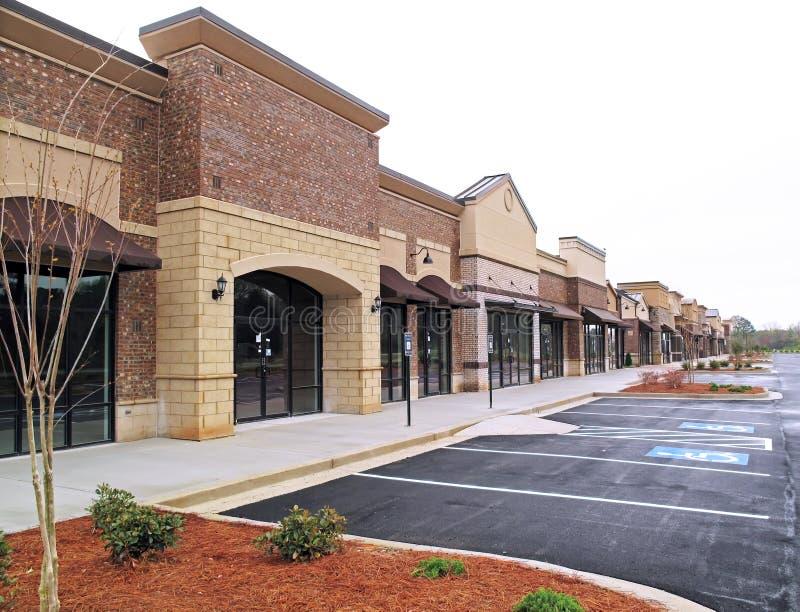 New shopping center royalty free stock photos