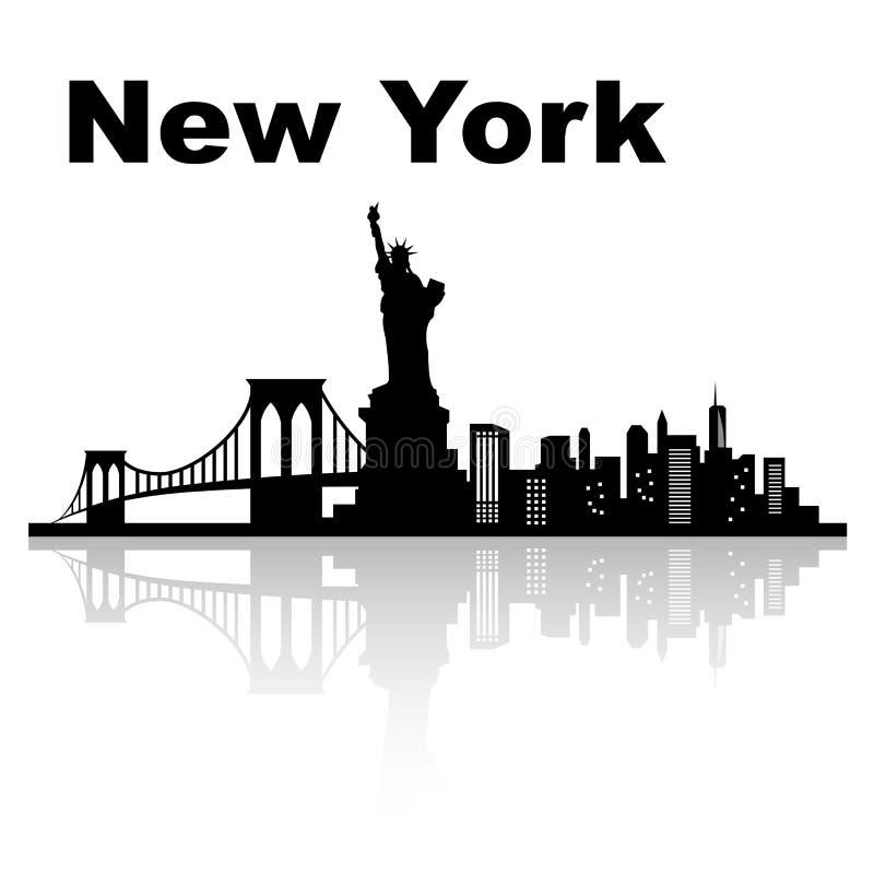 new skyline york απεικόνιση αποθεμάτων