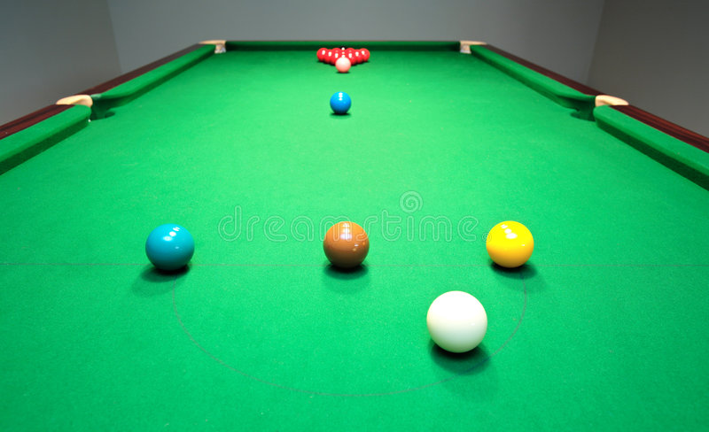 Download New Snooker Table With Balls Ready For Break Stock Photo - Image of blue & New Snooker Table With Balls Ready For Break Stock Photo - Image of ...