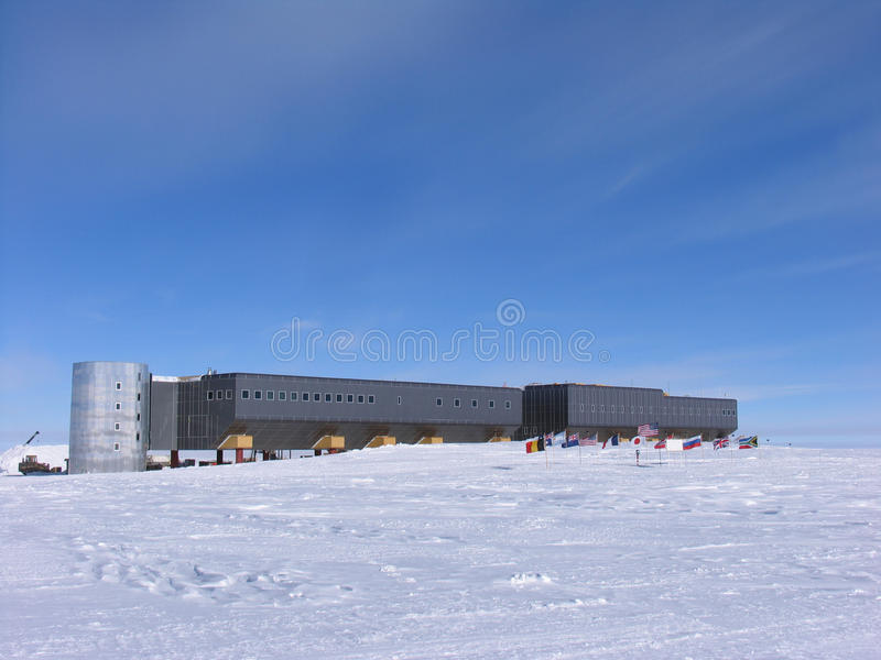 Download New South Pole Station stock photo. Image of beer, usap - 12519342