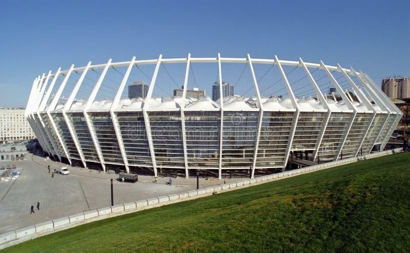 New stadium in Kiev stock photos