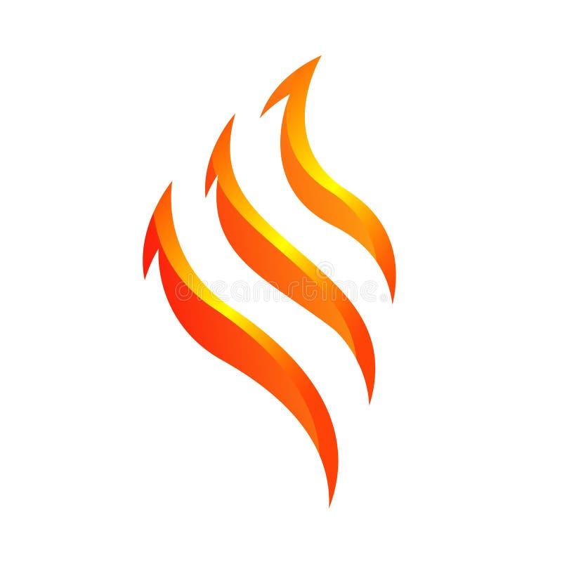 Free New Stylish Fire Flames Vector Logo Design Symbol Royalty Free Stock Photo - 170349585
