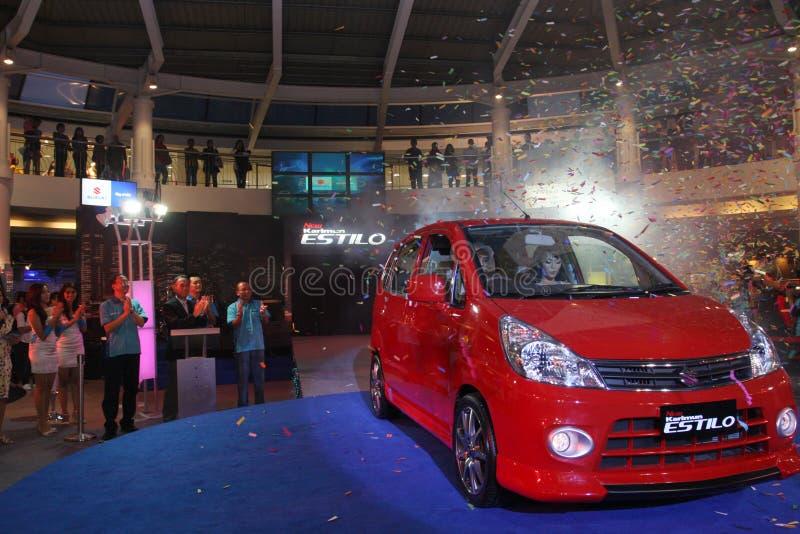 New Suzuki Karimun Estilo Launching royalty free stock photos