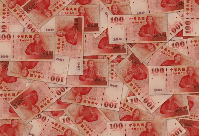 New Taiwan Dollar Currency stock image