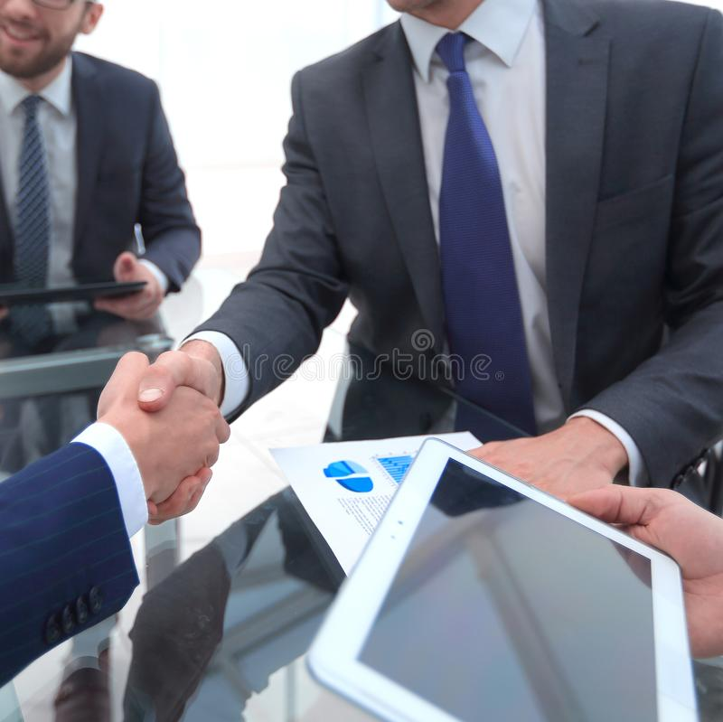 New technologies in business development stock photo