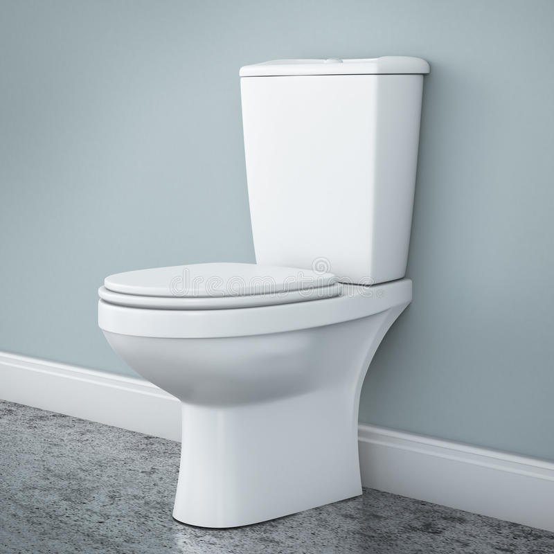 New toilet bowl. See my other works in portfolio stock illustration