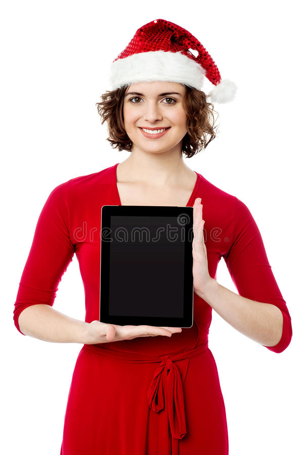 New Touch Pad Device Coming This Xmas Royalty Free Stock Photos