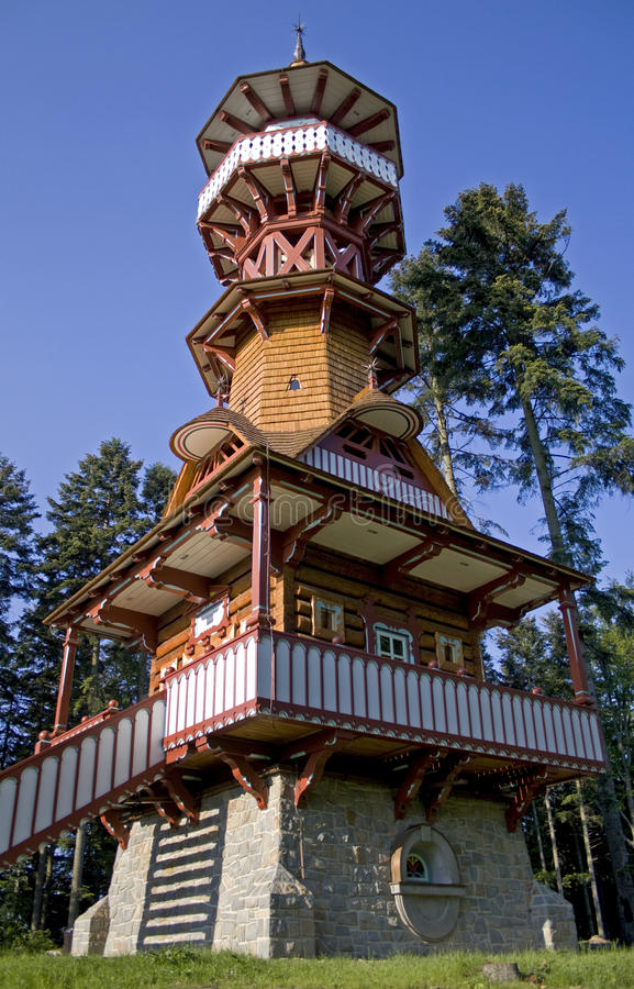 New tower royalty free stock photos