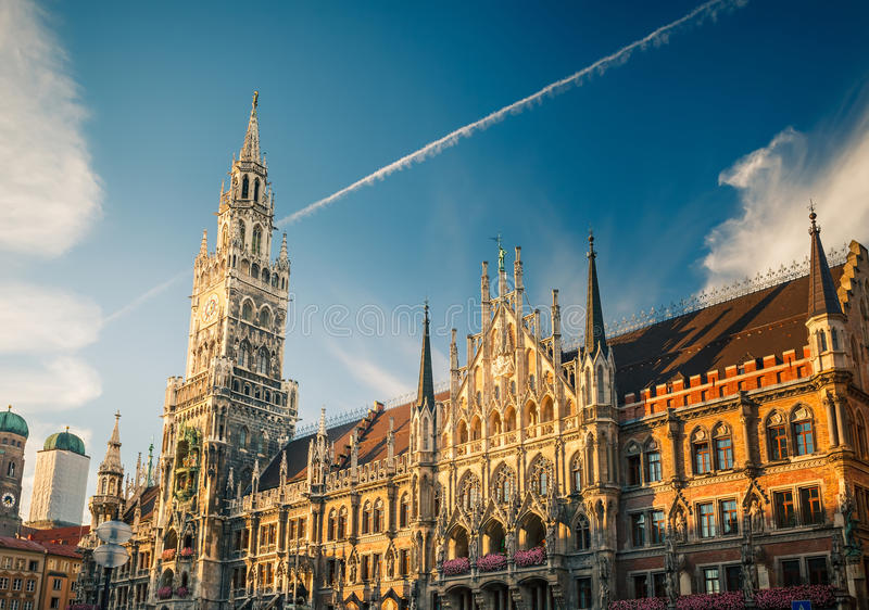 Download New Town Hall In Munchen Royalty Free Stock Image - Image: 27632796