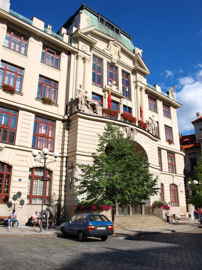 Download New Town Hall, Prague, Czech Republic Editorial Photography - Image of ceska, history: 26362357