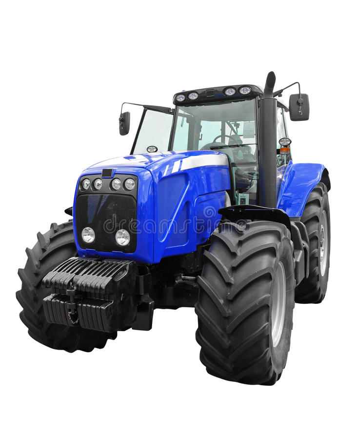 New tractor stock photo