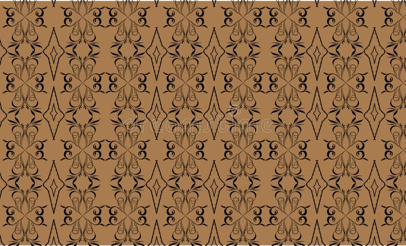 New traditional pattern from asia 02 stock photo