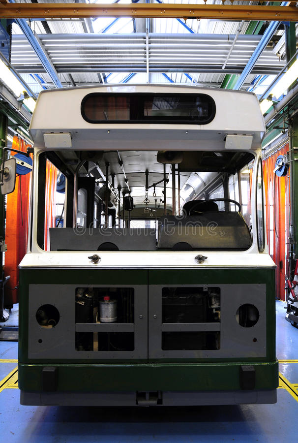 Download New tram in the factory stock photo. Image of empty, space - 11088696