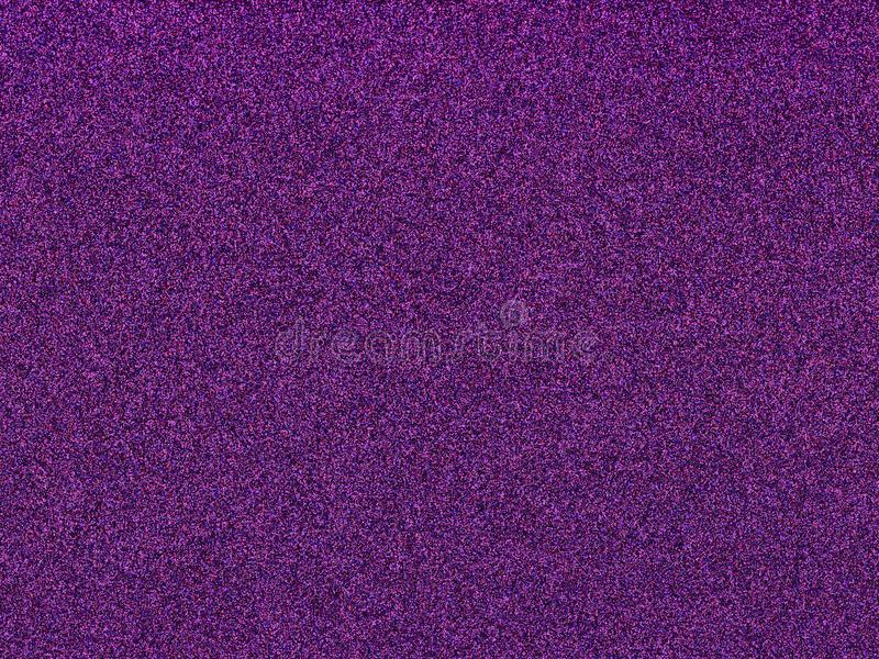 New trend color of 2018, Ultra violet on glitter background.  royalty free stock photos
