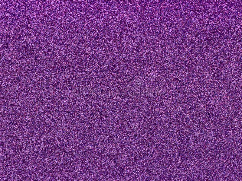 New trend color of 2018, Ultra violet on glitter background royalty free stock photography