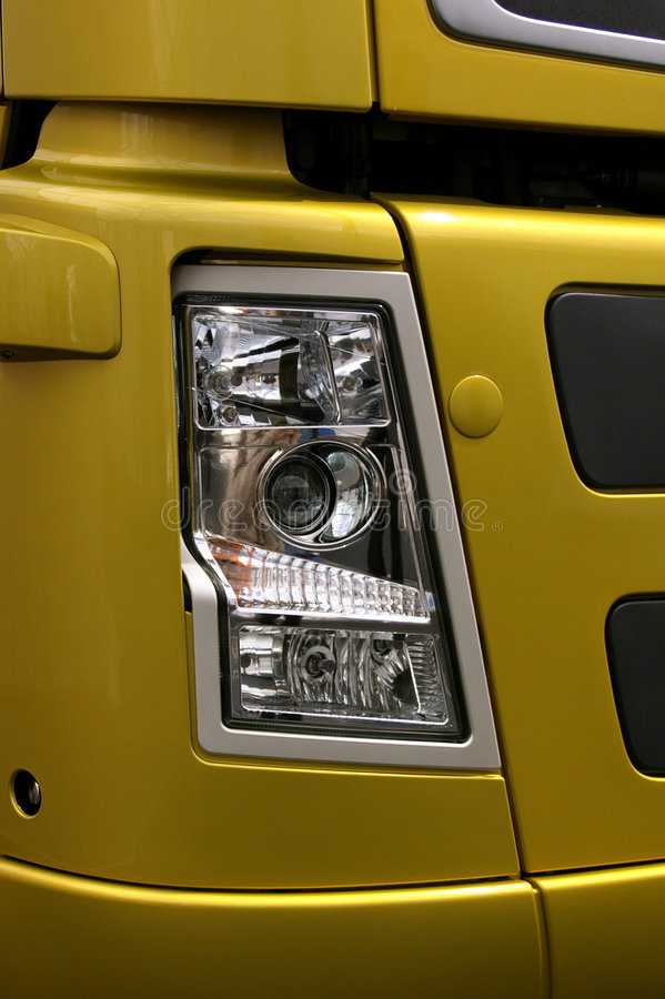 New truck details stock images