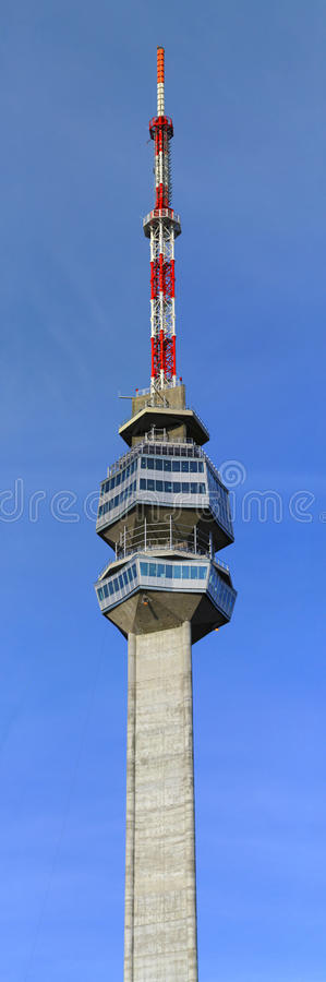 Download New TV Tower stock photo. Image of high, concrete, modern - 21833956