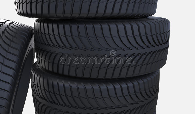 New Tyres Royalty Free Stock Image
