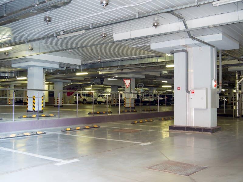 New underground parking stock photos