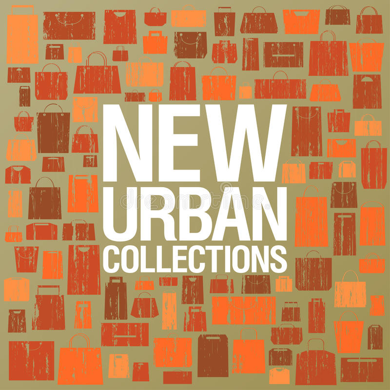 Download New Urban Collections Design Template. Stock Vector - Image: 25176785
