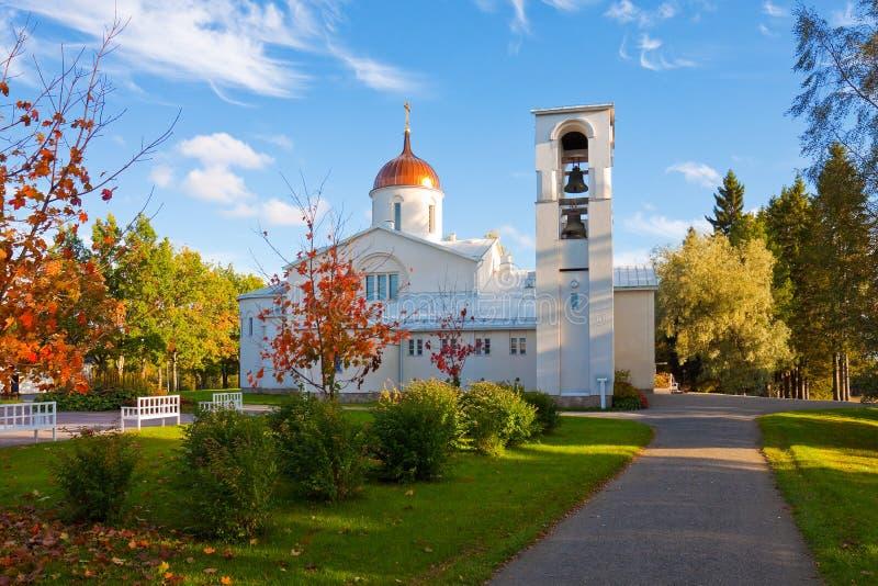 New Valaam monastery in Finland royalty free stock photos