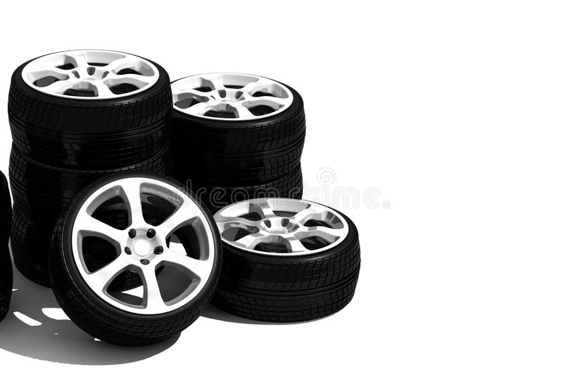 New wheels with steel rim
