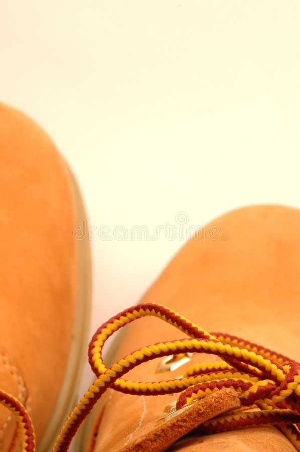 Download New Work Boots Royalty Free Stock Photography - Image: 436737