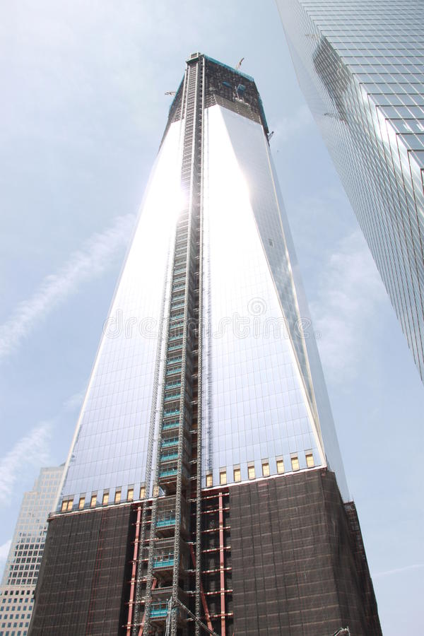 New World Trade Centre royalty free stock photo