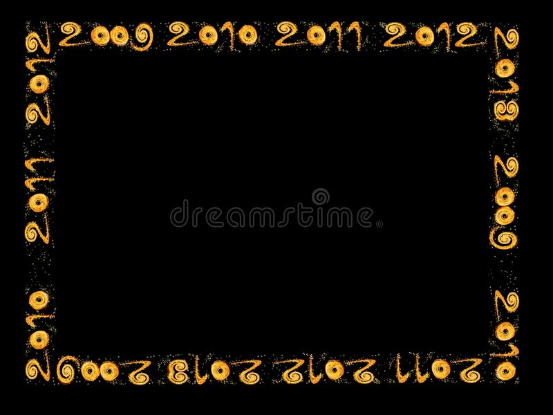 Download New Year 2010, 2011, 2012, 2013 - Frame Royalty Free Stock Image - Image: 11438916