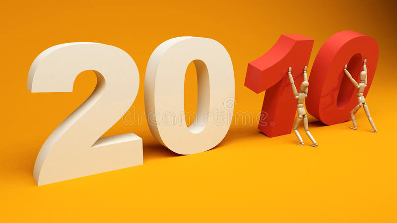 Download New Year 2010 stock illustration. Illustration of future - 9978192
