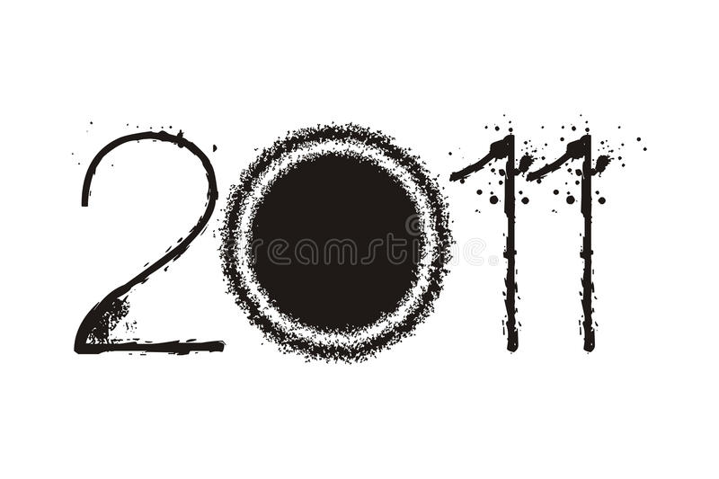 Download New year 2011 stock vector. Image of holiday, resolution - 16903788