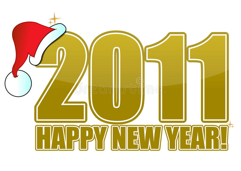 Download New Year 2011 stock vector. Image of rays, background - 17231789