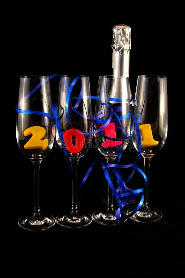 New Year 2011 Royalty Free Stock Photos