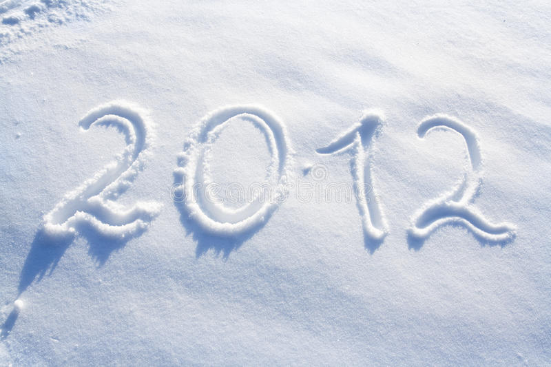 New Year 2012 Royalty Free Stock Photo