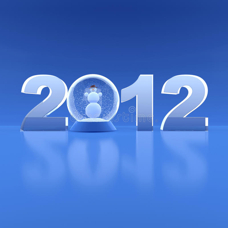 Download New Year 2012 stock illustration. Illustration of background - 21543099