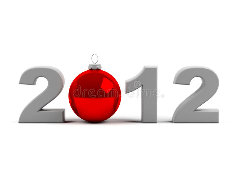 Download New year 2012 stock illustration. Image of number, glitter - 21904187