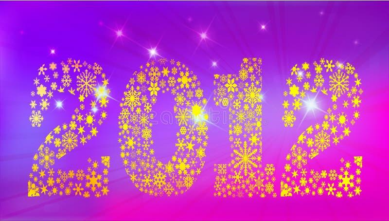 New Year 2012 Royalty Free Stock Photo