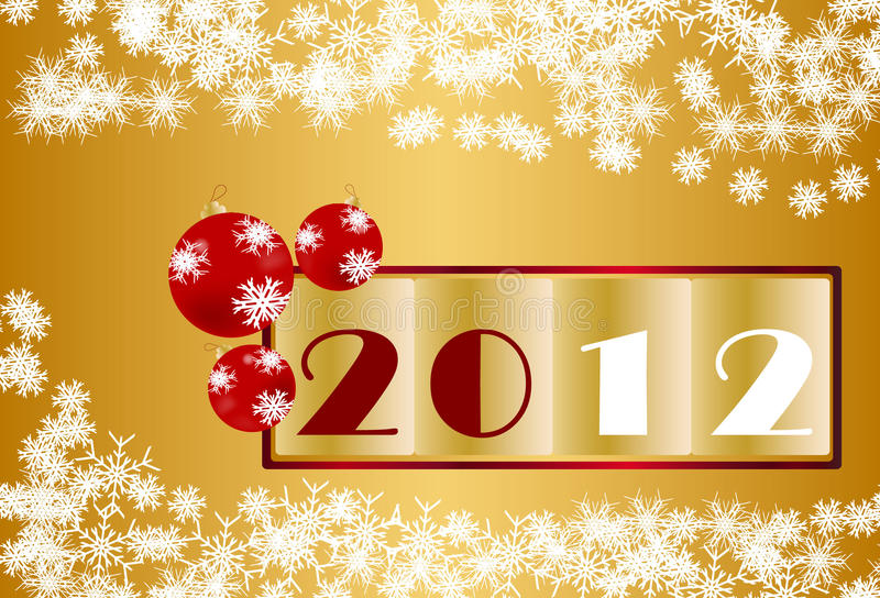 Download New Year 2012 Christmas Fund Stock Vector - Image: 20576099