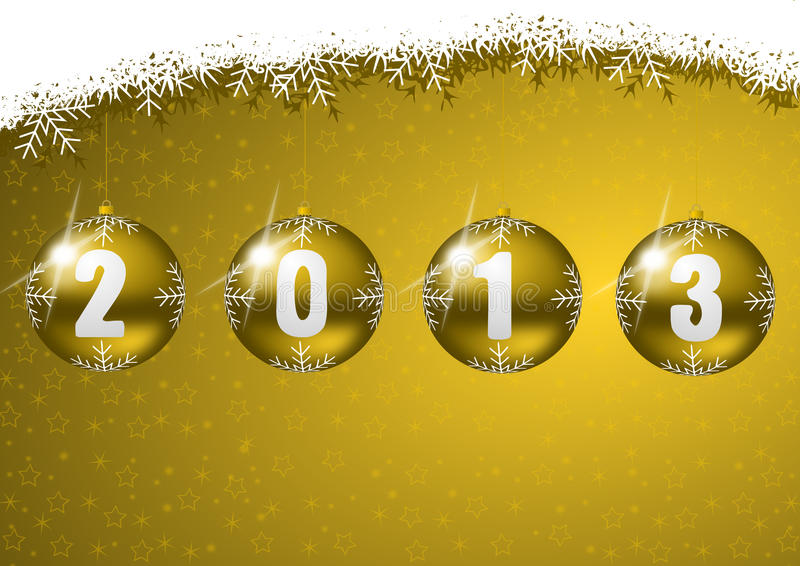 Download New year 2013 stock illustration. Illustration of frost - 26226913