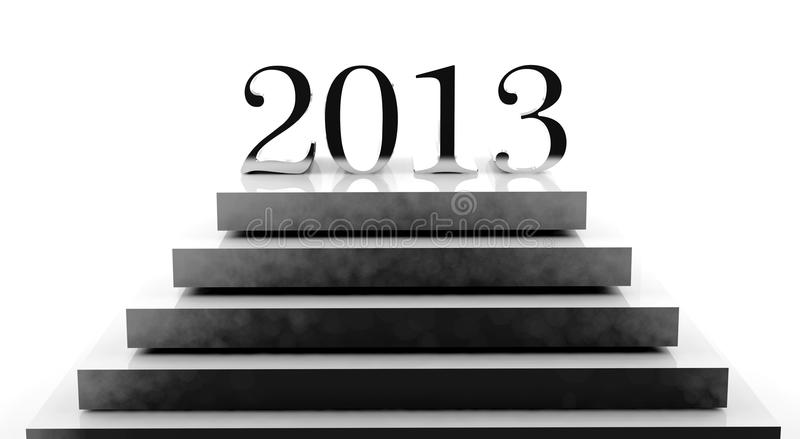 Download New year 2013 stock illustration. Illustration of 2013 - 26444349