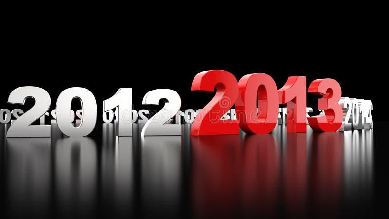 Download New Year 2013 stock illustration. Illustration of happy - 26538667